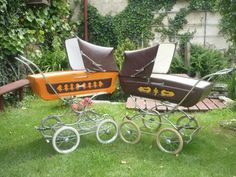 Vintage Stroller, Vintage Pram, Prams, Retro, Baby Strollers, Children, Archive, Pictures, Baby Prams