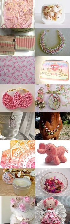 Pink Beauty by Heather on Etsy--Pinned with TreasuryPin.com #summerfinds