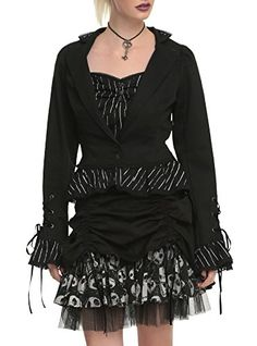 The Nightmare Before Christmas Steampunk Stripe Jacket LARGE >>> You can find out more details at the link of the image.