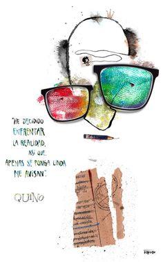 Bernasconi - Quino. Gente enorme. #illustration