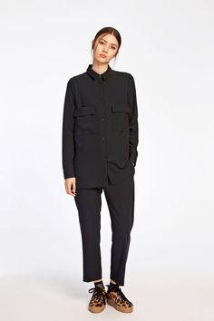 Agatha shirt 8281, BLACK