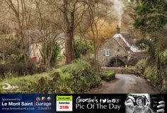 Pleasant afternoon stroll through the lanes by Le Moulin de Quanteraine (owned by National Trust of Guernsey), and was the last water mill to function in Guernsey, closing in the 1930′s. #LoveGuernsey  http://chrisgeorgephotography.dphoto.com/#/album/cbc2cr/photo/21230363  Picture Ref: 25_01_14 — in Guernsey.