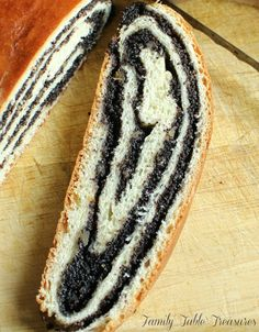 Polish Poppy Seed Roll {Makowiec} – Family Table Treasures – Famous Last Words Polish Desserts, Polish Recipes, Polish Food, Poppy Seed Recipes, Poppy Seed Kolache Recipe, Czech Recipes, Ethnic Recipes, Yeast Packet, Poppy Seed Bread