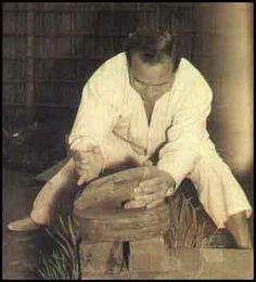 pokaz sprawności Oyamy lamanie kamieni