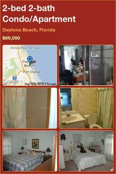 2-bed 2-bath Condo/Apartment in Daytona Beach, Florida ►$69,000 #PropertyForSale #RealEstate #Florida http://florida-magic.com/properties/5701-condo-apartment-for-sale-in-daytona-beach-florida-with-2-bedroom-2-bathroom