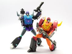 Transformers Masterpiece MP-09B Black Rodimus Convoy and MP-09 Rodimus Convoy