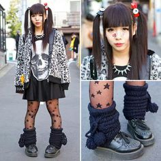I love Harajuku fashion ♥