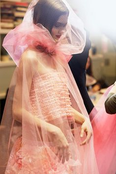 A behind-the-scenes look at how Chanel Couture is made via @britishvogue