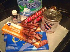Lekker eten met Marlon: Rocky Road Fudge met chocolade, rolo en pepermunt ...