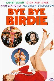 40.  Bye Bye Birdie (8/29/13).  I've always loved the musical but had never seen the movie.  Charming, but it's definitely the Ann Margaret show which can be a bit draining after awhile.