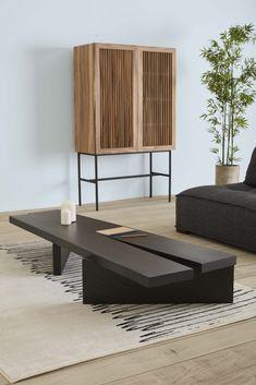 Japanese Interior Design, Interior Desing, Aesthetic Room Decor, Living Room Designs, Furniture Design, Wabi Sabi, Scandinavian Style, Brown Sofa, Black Coffee