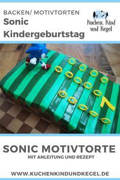 Dein Kind wünscht sich einen Sonic Geburtstag? Ich habe die passende Sonic Torte für dich. Mit meiner Schritt für Schritt Anleitung zauberst auch du für dein Kind eine tolle Sonic Motivtorte. #sonictorte #sonicgeburtstag #sonicthehedgehog #birthday #birthdaycake #geburtstagsparty #sonicparty #sonic #sonicmotivtorte #motivtorte #sonictorte #sonickuchen #rezept #motivtorteanleitung #schrittfürschrittanleitung #howto #bake Sonic the Hedgehog Birthday Cake Sonic Party, Sonic Kuchen, Partys, Valentino, Holiday Decor, Tutorials, Homemade Invitations, Amazing Cakes, Play Ideas