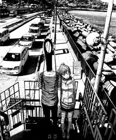 oyasumi punpun - Inio Asano (the distortion of the human body conveys the madness of the character)