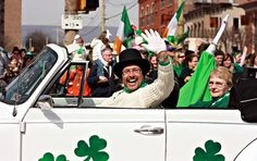 All about the legendary St. Patrick's Day Parade in Scranton, Pennsylvania.
