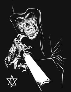 Grim Sniper by audirein