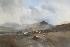 Scottish Highlands   #Paintings | #England | #ChrisRobinson #Watercolour #paintings
