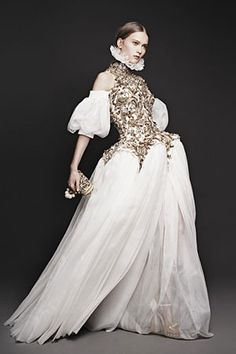 Costume or Obsession-Worthy? Alexander McQueen Fall 2013 Lookbook (Forum Buzz) - theFashionSpot