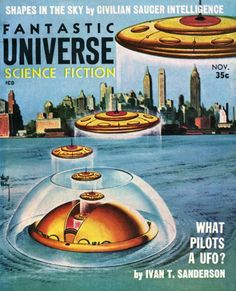 Virgil Finlay -Fantastic Universe, 1957.