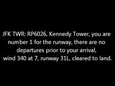 Some Funny Air Traffic Control Conversations - YouTube 1:46 precious cargo - daughter and grand daughter