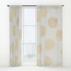 Shimmer Gold Grommet Curtain