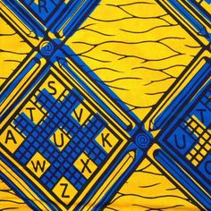 Julius Holland African wax print fabric Pencils and by ChilliPeppa