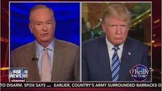 Full Video: Donald Trump Interview with Bill O'Reilly, Ending Fox News Boycott