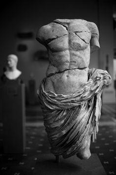 Roman (or Greek) torso of a young man