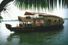 Kerala, India.....lovely house boats cruise the inland waterways