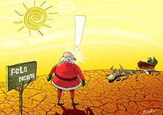 chiste grafico papa noel cambio climatico