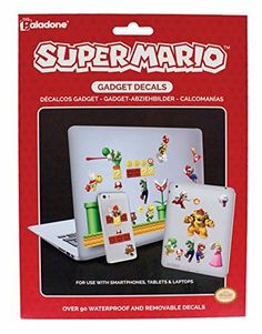 Video Game Merchandise Super Mario Brothers Pack Of 90 Removable Waterproof Gadget Stickers Decals Mario Nintendo, Mario Bros., Buy Nintendo, Super Mario Brothers, Super Mario Bros, Sports Merchandise, Hobbies And Interests, Quirky Gifts, Gamer Gifts
