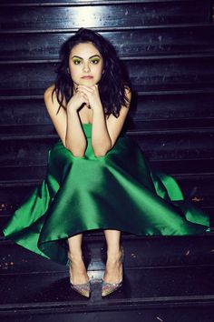 Riverdale& Camila Mendes Is Not Interested in Latina Sterotypes - Coveteur Dress, Elizabeth Kennedy; Shoes, Christian Louboutin Riverdales Camila Mendes Is Not Interested in Latina Sterotypes - Coveteur Dress, Elizabeth Kennedy; Vanessa Morgan, Ron Weasley, Camila Mendes Photoshoot, The Cw, Ropa Teen Wolf, Pretty People, Beautiful People, Camila Mendes Veronica Lodge, Camila Mendes Riverdale