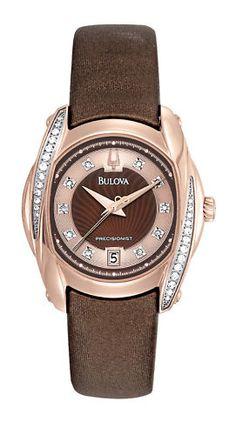 Bulova Women's Watch Precisionist Tanglewood  98R140   This beauty belongs on my wrist right now!