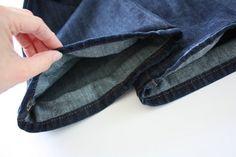 Fotogalerie: Jak zkrátit džíny