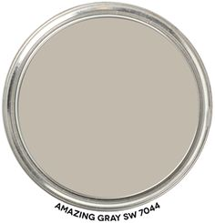 Paint Blob Amazing Gray 7044 by Sherwin Williams Grey Paint Colors, Bedroom Paint Colors, Exterior Paint Colors, Neutral Paint, Sherwin Williams Amazing Gray, Anew Gray Sherwin Williams, Sea Salt Sherwin Williams, Amazing Gray Paint, Amazing Grays