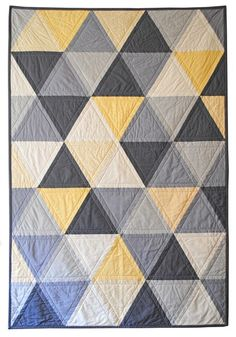 Equilateral Triangles Quilt, CarsonToo
