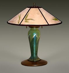 Mica L& Shades | Arts and Crafts Lighting | Art Glass L&s | Ephraim Pottery | & 316 best Arts u0026 Crafts Lighting images on Pinterest | Artesanato ...