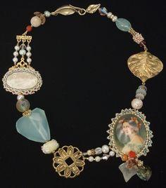 Eclectic bracelet idea