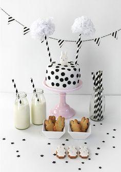 Miffy mini party. Miffy cake. Nijntje  lepetitbiscuit.nl