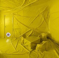 Plastiqué du sol au plafond protection plastique 06 bonus art