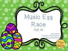 Music Egg Race Game: high do
