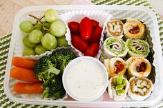 Bento box lunch for kids!  No rice or raw fish....