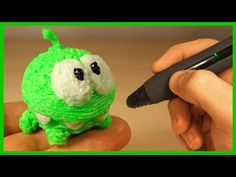 3Д РУЧКА - Ам Ням. 3D Pen - Om Nom. Каляка. - YouTube