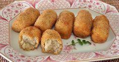 Unas croquetas donde la bechamel se sustituye por puré de patata. ¡No dejes de probarlas! Una receta de COCINA FÁCIL CON PARMELIA.