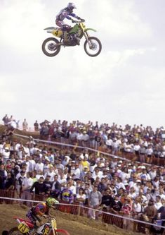 Jeff Emig and his teammates Jeremy McGrath and Steve Lamson were literally head and shoulder above everyone else in Spain in 1996. Emig won the 500 class with a 1-1 finish.