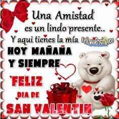 Gif+De+Osos+Con+Mensajes+De+Amistad+Para+San+Valentín