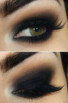 maquillaje de ojos para noche - Buscar con Google