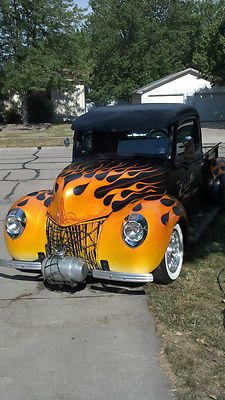 Ford : Other Pickups N/A 1940 FORD CUSTOM RAT HOT - http://www.legendaryfinds.com/ford-other-pickups-na-1940-ford-custom-rat-hot/