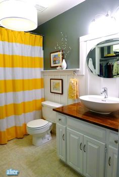 "In love with this site of ""Before & Afters"" for bathrooms."