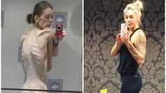 Van de rand van de dood tot bodybuilder: in 18 maanden gooide deze anorexiapatiënte haar leven compleet om - HLN.be