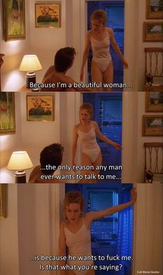Nicole Kidman y Tom Cruise - Eyes wide shut Famous Movie Quotes, Film Quotes, Stanley Kubrick, Cruise Quotes, Eyes Wide Shut, Z Cam, Movie Couples, Movie Lines, Cult Movies